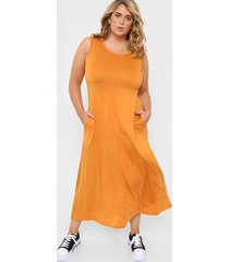 vestido naranja vindaloo rocío