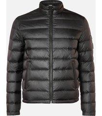 mackage men's james ripstop puffer jacket - black - xxl