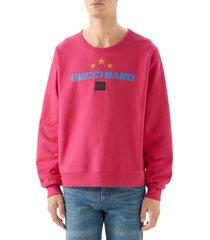 men's gucci band print sweatshirt