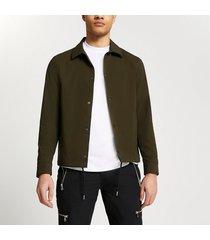 river island mens khaki coach jacket