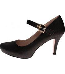 zapato fiesta anitta negro weide