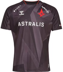 astralis 20/21 game jersey s/s t-shirts football shirts svart hummel