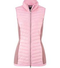 gilet trapuntato per le mezze stagioni piumino leggero (rosa) - bpc bonprix collection
