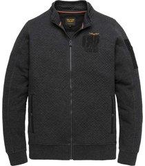 zip sweat jacket anthracite