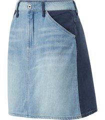 jeanskjol faeroes zip skirt