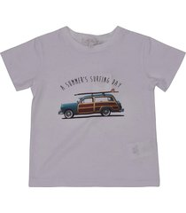 mariella ferrari a summers surfing day short-sleeve t-shirt