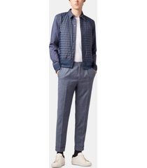 boss men's relaxed fit trousers