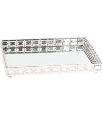 taca srebrna z lustrem 29.5 cm