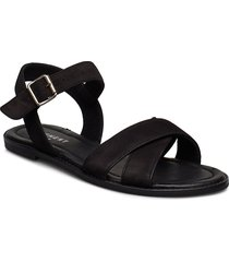 roselyn shoes summer shoes flat sandals svart pavement