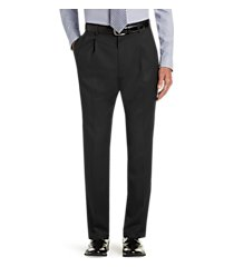 executive collection traditional fit pleated front dress pants clearance by jos. a. bank