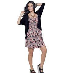 vestido corto multicolor atypical