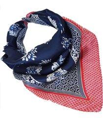pañuelo azul nuevas historias estampado ba1314-4819