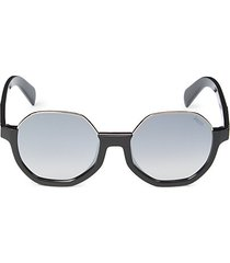 55mm octagon sunglasses