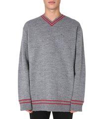 maison margiela oversize fit sweater