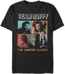 men's buffy the vampire slayer team buffy short sleeve t-shirt