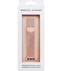 rebecca minkoff womens apple watch strap mesh bracelet