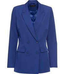 blazer lungo a doppiopetto (blu) - bpc selection