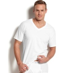 hanes men's platinum freshiq underwear,5 pack v-neck undershirts