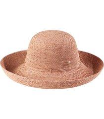 helen kaminski 'provence 12' packable raffia hat in light musk at nordstrom