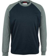 wolverine men's fr brower long sleeve tee navy, size xl