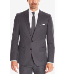 boss men's slim-fit italian virgin wool sport coat