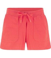 shorts in felpa con coulisse (rosso) - bpc bonprix collection
