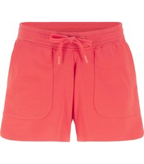 shorts in felpa con coulisse (rosso) - bpc bonprix collection