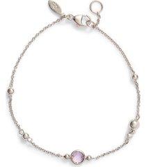 women's anzie dew drop bubbling brook blue topaz bracelet