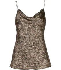 leopard print gemma cami top