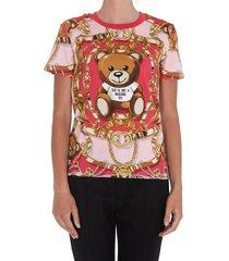 moschino moschino teddy bear scarf t-shirt