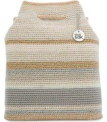 the sak women's crochet kali drawstring backpack