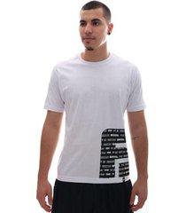 camiseta fatal think big branco - masculino