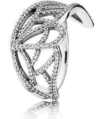anel magnífica borboleta