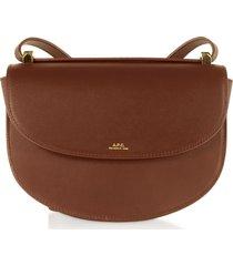 a.p.c. hazel geneve leather crossbody bag