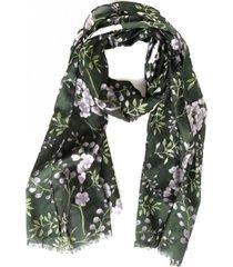 pañuelo hojas verde i-d