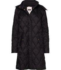 sandrapt otw gevoerde lange jas zwart part two