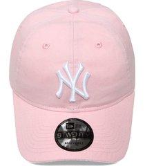 boné new era strapback 920 candy color new york yankees rosa - kanui