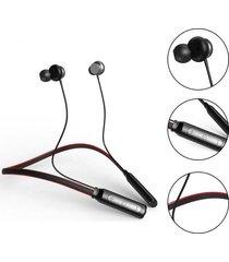 audifonos bluetooth deportivo neckband con cancelación de ruido - rojo