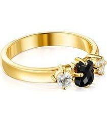 anillo tous en plata mujer 18145591