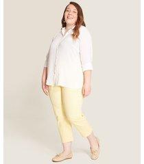 pantalon mujer capri bota recta