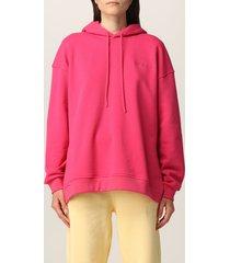ganni sweatshirt ganni software hoodie with logo