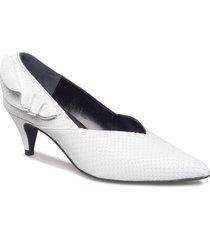 enna pumps ze1 18 shoes heels pumps classic vit gestuz