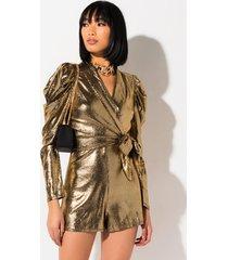 akira golden girl long sleeve romper