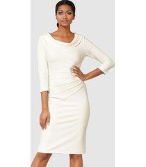 jurk alba moda offwhite