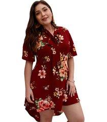 vestido maxi estampado vestido elegante de playa para mujer
