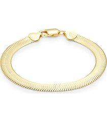 goldplated sterling silver bracelet