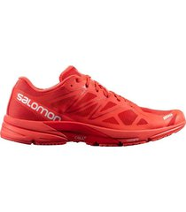 zapatilla roja salomon s lab sonic racing