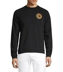 raglan-sleeve cotton sweatshirt