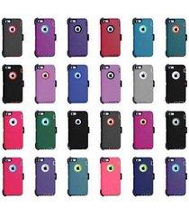iphone 6 & 6s+ hard shockproof defender case {belt clip fits otterbox defender}
