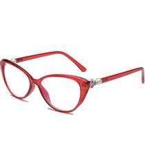 unisex occhiali da lettura in resina portabili colorati occhiali da presbiopia